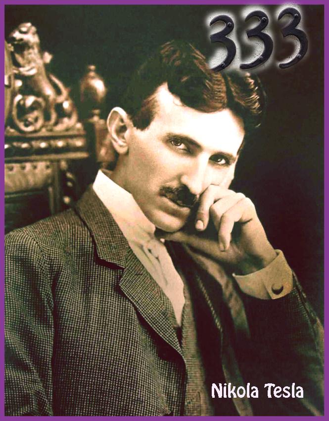 Nikola Tesla 1904 art