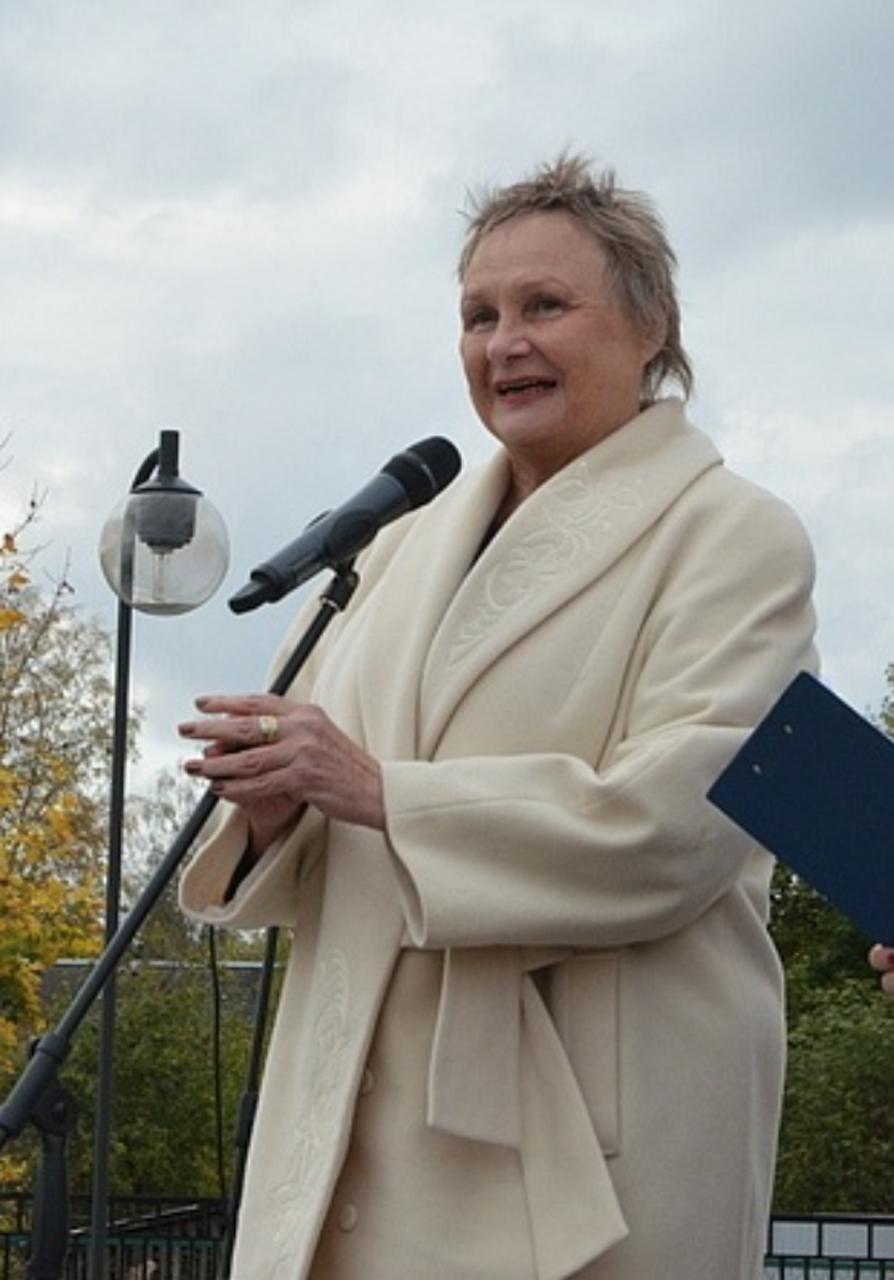 Natalia Cherkashina Directora del Museo no gubernamental Nicholas Roerich
